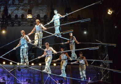 Circus Flic Flac, die Gerlings, Balance