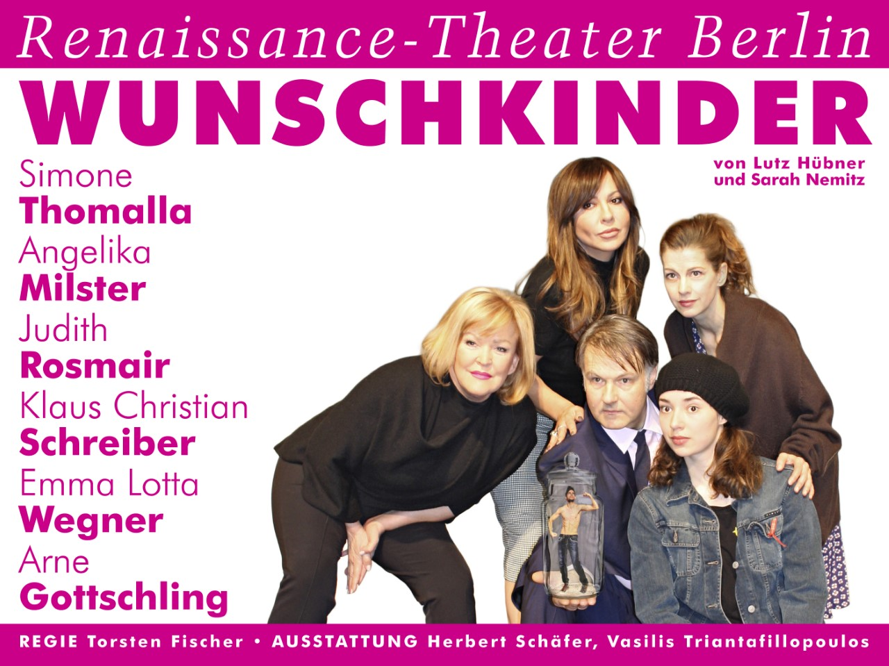 WUNSCHKINDER im Renaissance-Theater – Ist es heutzutage